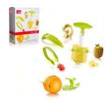 Set Frutas Vacuvin 4 Articulos En Caja Ind.holandesa