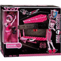 Monster High Draculaura Cofre Cama + Muñeca Incluida