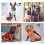Chaleco Campera Inflable Perro Mascota Talles Grandes