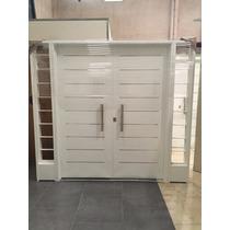 Portada Chapa Inyectada Doble Hoja + Laterales 230x205 Cm