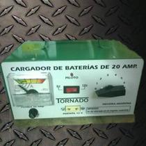 Cargador De Baterias De 20 Amp De 12 Y 6 Volt