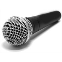 Microfono Parquer Karaoke Con Cable Y Adaptad Tipo 58