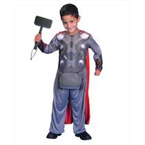 Disfraz Avengers 2 Thor Licencia Original Marvel New Toy