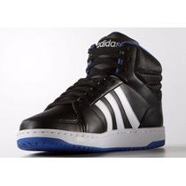 Zapatillas Adidas Neo Hoops Vs Mid Leather Originales