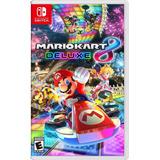 Mario Kart 8 Deluxe Nintendo Switch Nuevo Sellado