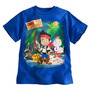 Remera Pirata Jake Disney Store Original Importada D Usa