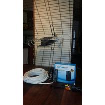 Sintonizador Tv Digital Abierta( Tda) +antena +cable