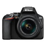 Nikon  D3500 18-55mm Vr Kit Dslr Negra