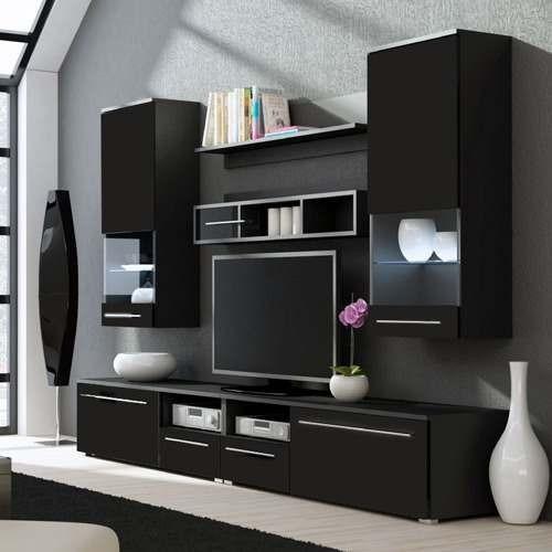 Modulares para tv home simbal sleep acapulco com painel for Modelos de muebles para tv