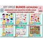 1 Kit Imprimible X 6 Sets Lechuzas Buhos P/ Candybar Cumple