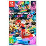 Juego Nintendo Switch Mario Kart 8 Deluxe Nuevo Caja Alclick