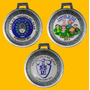 Medalla Personalizada 33mm Pasacinta Deportes Egresado Etc