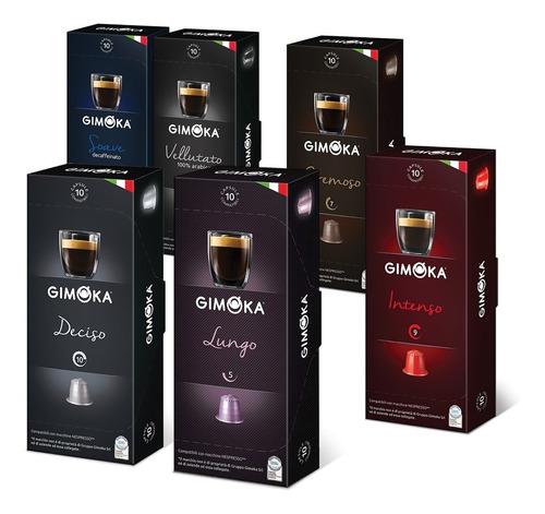 Café Cápsulas Gimoka X10 Cápsulas Nespresso Compatibles