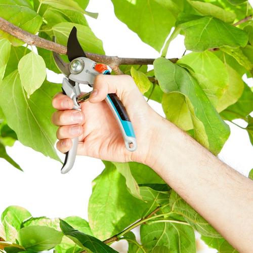 Tijeras De Poda Jardín De Aluminio B/l Gardena 8906 Aquaflex
