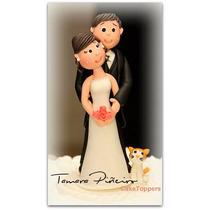 Adornos Para Tortas En Porcelana Fría Boda Casamiento Novios
