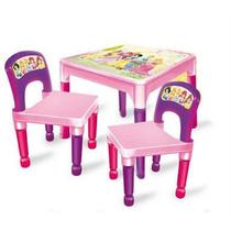 Mesa Y Sillas Princesas Mickey Mouse Plastico / Open-toys 71