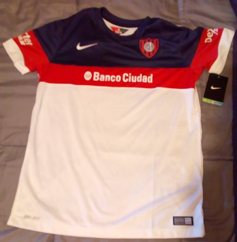 Camiseta Nike San Lorenzo Alternativa Stadium 2016 Infantil 20393674abd1c