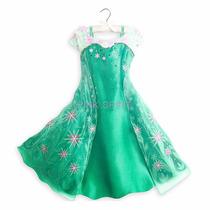 Disfraz Elsa Frozen Fever Vestido Disney Store