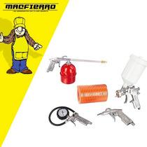 Kit De Aire P/compresor 5 Piezas Metálicas - Isard Tools