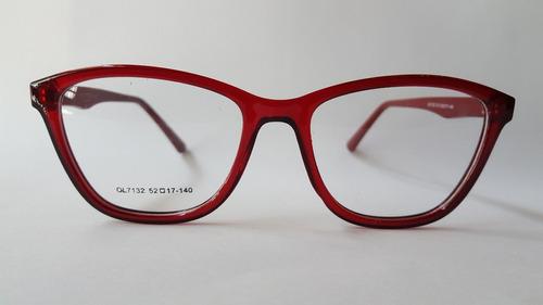 679955679d Anteojo Armazon Receta Pin Up Gatito Rojo Lejos
