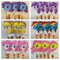 Mi Pequeño Pony Souvenirs En Goma Eva Con Mogul