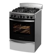 Cocina Orbis 968aco 55cm Acero Multigas Rejilla Fundicion