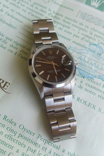4512d71afb4 Reloj Rolex 15200 Con Papeles 34 Mm   orologiwatches