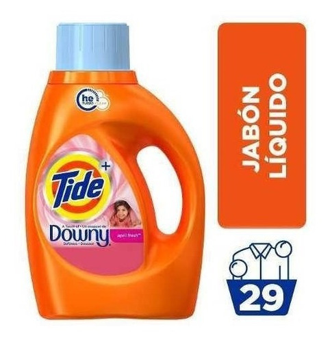 Tide Plus With Touch Of Downy Jab.liq. 1360 Cc Bot.pl