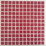 Venecita Premium Roja 2.5 X 2.5 Con Malla. Extra Biselado