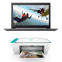 Notebook Lenovo Ip 320 N3350 4gb 500gb 14 + Impresora 2675