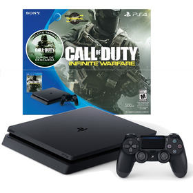 Ps4 Playstation 4 Slim 500gb 1 Joystick Call Of Duty Mexx