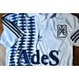 Camiseta Retro Independiente 95 Blanca Xl Salva A Holandes