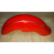 Guardabarro Delantero Gilera Yl 150 Rojo - 2r