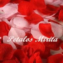 Petalos De Rosas En Tela $13 X 100 Petalos