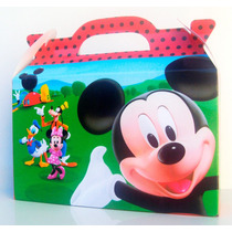 Cajita Mickey Mouse X30 + 20 De Minnie (pack X50)