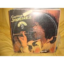 Vinilo Carlitos Mona Jimenez En Vivo 1991 P3
