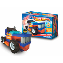 Rasti Hot Wheels Monster Truck 55 Pzas Arma Autos En Smile