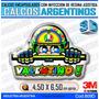 Calcomanias 3d Con Relieve, Accesorio Autos Valentino