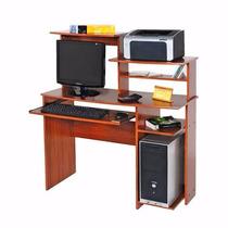 Mesa Escritorio Para Pc Platinum Linea Oficina 9017