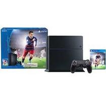 Consola Ps4 Sony Playstation 4 500gb Fifa 16 Incluido Fisico