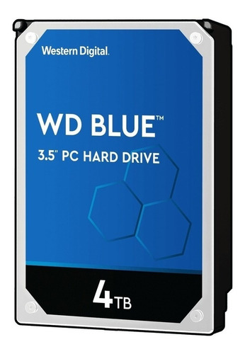 Disco Duro Interno Western Digital  Wd40ezrz 4tb Azul