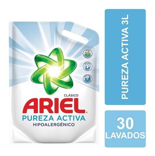 Jabón Líquido Ariel Pureza Activa Recarga 3 L