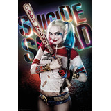 Bate Harley Quinn Cosplay Escuadron Suicida Disfraz