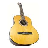 Guitarra Criolla De Lujo + Funda + Pua D´addario Original