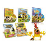 Dvd Vol.1,2y3 La Granja De Zenón + 2libros Regalo! Oficial
