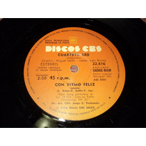 Disco Simple Cuarteto Leo - Con Ritmo Feliz
