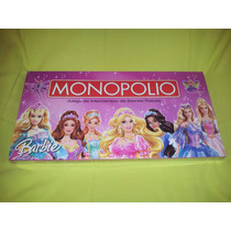 Monopolios Princesas-barbie