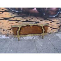 Piecera De Cama Francesa Luis Xv Balcon Dos Plazas
