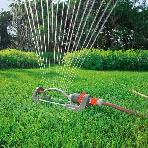 Aspersor Riego Oscilante Gardena Polo 2082 Classic Aquaflex