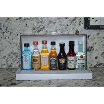 Miniaturas Botellitas Whisky Y Otras Bebidas 50ml Pack X 7